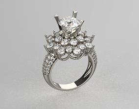 3D printable model Diamond ring BALLET
