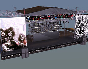 3D concert stage