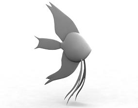 3D Angelfish