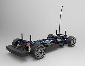 RC Car-Tamiya TT-01 3D printable model