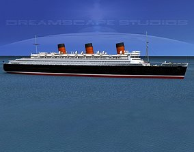 3D model RMS Queen Mary 1