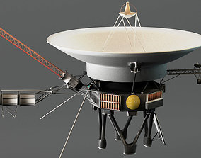 Voyager Probe v2 3D model