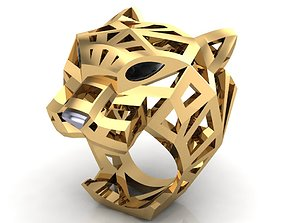 Panther Ring Unisex 3D print model