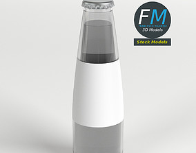 3D Small aperitif bottle