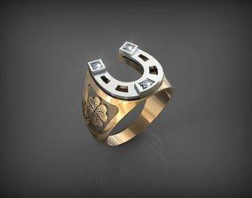 3D printable model Horseshoe Ring STL