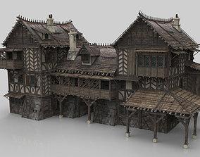 Medieval house fantasy 19 3D asset VR / AR ready