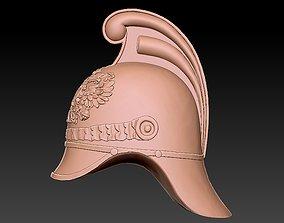 Badge helmet 3D printable model