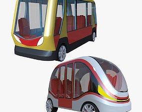 3D model Smart minibuses