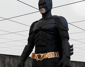 Batman and Bunker 3D model