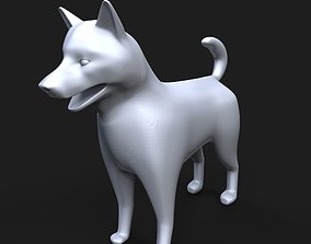 figurines Norwegian Elkhound 3D printable model