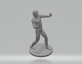 Rush Starman ZBrush 3D printable model