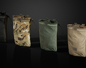 3D model Military bag