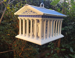 3D printable model Greek Temple Bird house
