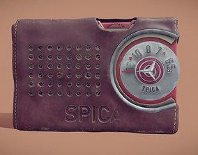 Radio Spica st-600 3D asset