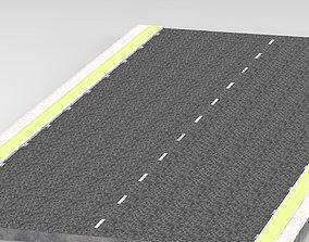 Simple Road 3D model
