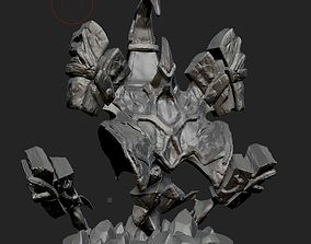 3D printable model stone Spirit