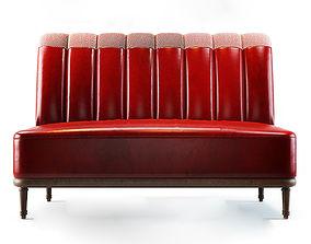 3D model Holborn Dining Lounge Sofa
