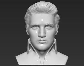 Elvis Presley bust 3D printing ready stl obj formats