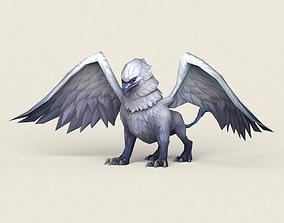3D asset Fantasy Eagle Griffin