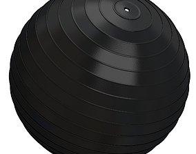 3D model Yoga Ball Black