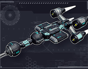 Stellar Science Ship 3D model