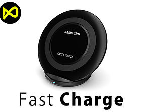 Samsung Fast Charge Wireless Stand EP-NG930 3D