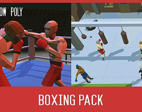 3D asset Boxing pack