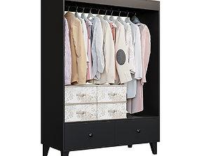 Ikea ikea BRUGGIA Open wardrobe 3D model