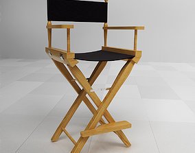 3D model Director Chair producer