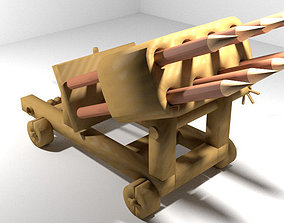 3D model Medieval War Machine - Multi Arch
