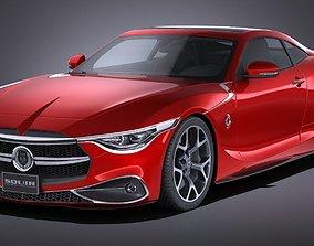 Generic Coupe V2 2016 3D model
