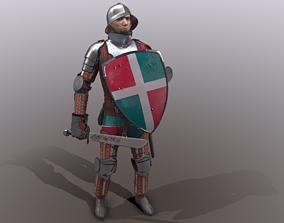 3D asset TAB Medieval Knight - 5