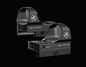 DeltaPoint - Reflex Sight 3D asset