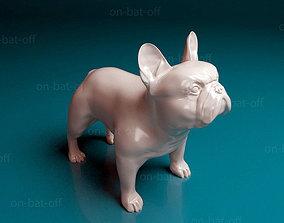 3D print model toy French bulldog