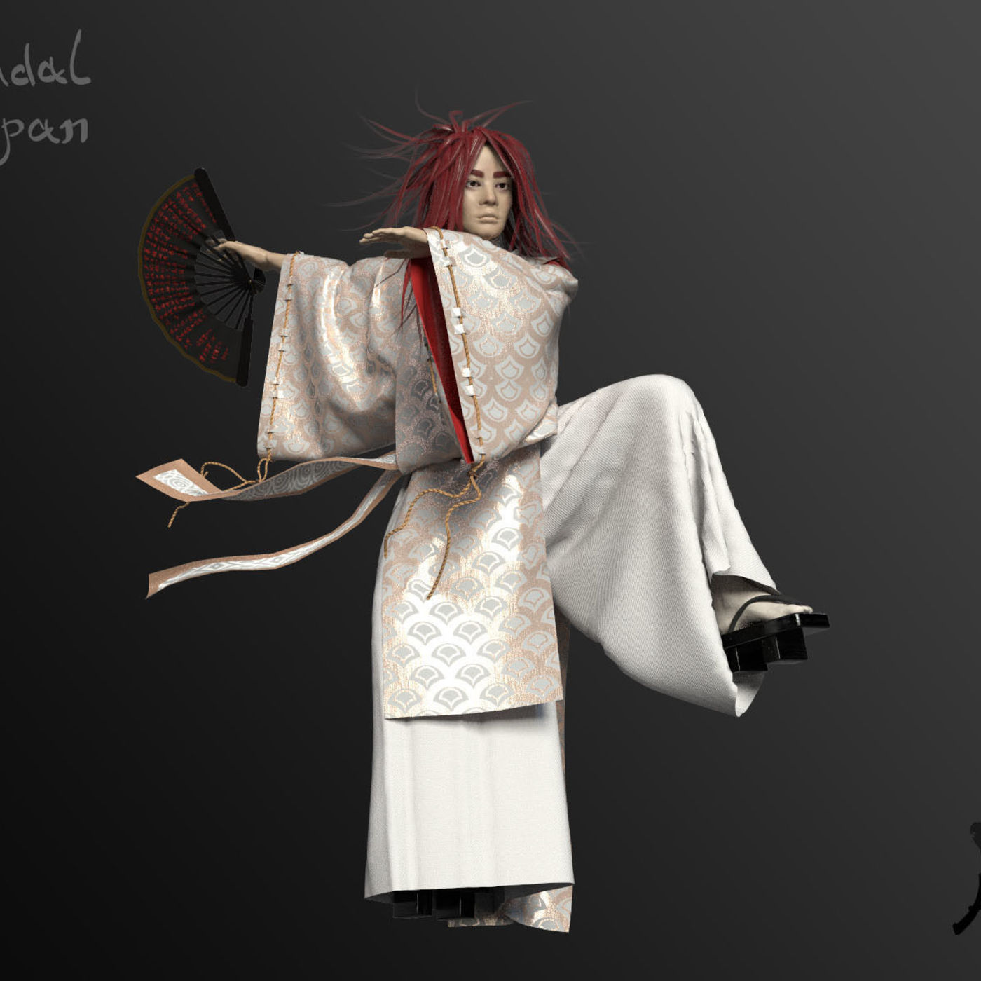 The Dancing Feudal (Kitsune Man)