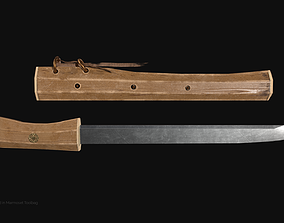3D model Hosindo Dagger