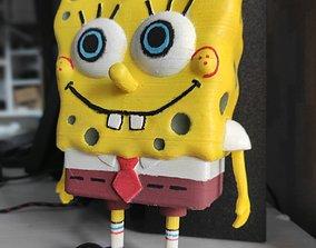 3D printable model Spongebob Squarepants anthropomorphic