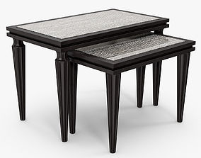 Francis Sultana - Victoria nest of tables 3D model