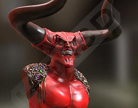 Legend Darklord Bust 3D Print