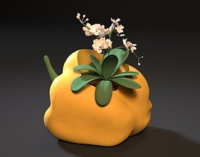 3D printable model pepper planter