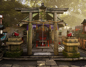 3D model 4K Japanese Kyoto Shrine - Fushimi Inari Taisha -