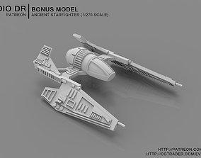 Ancient Starfighter 3D print model