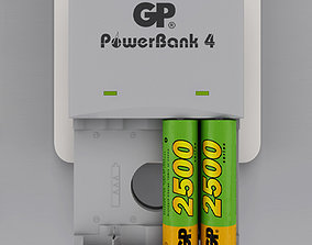 3D model Powerbank - Accu loader