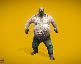 Zombies Fatman 3D asset