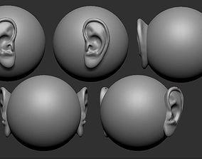 3d Printable Ear for models