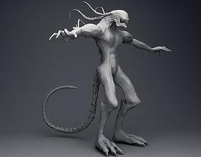 3D Alien Xenomorph