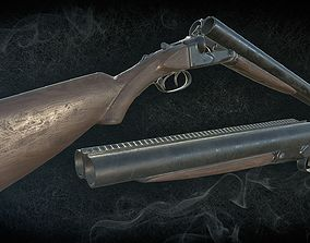 animated Winchester Model 21 including a truncated