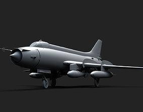 Su-17 20 22 3D model VR / AR ready