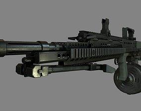 3D model L86 Light Machine Gun