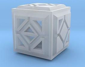 Dice pendant 3D printable model
